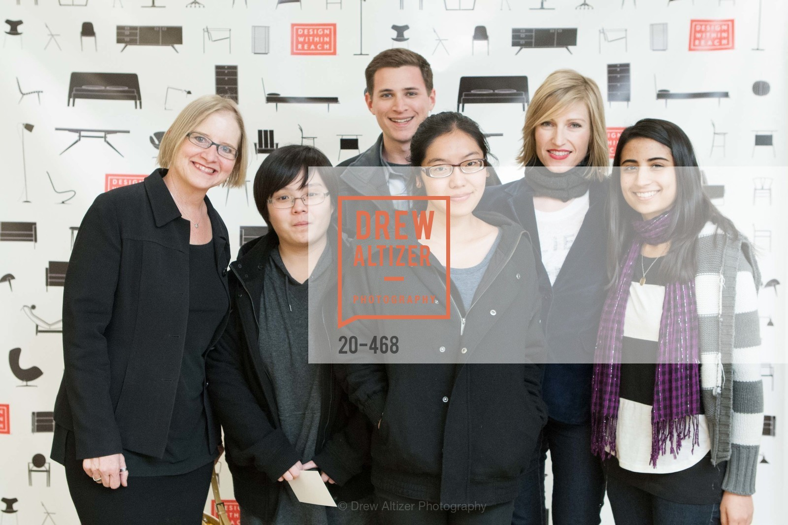Katherine Lambert, Debbie Shih, Adam Klafter, Grace Chang, Tiffany Blaylock, Anushe Babar, DESIGN WITHIN REACH Studio Opening, US. US, January 21st, 2014,Drew Altizer, Drew Altizer Photography, full-service agency, private events, San Francisco photographer, photographer california