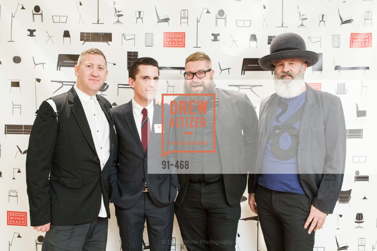 Eric Hildebrandt, Timothy Williamson, Rick Ray, Damian Carver, DESIGN WITHIN REACH Studio Opening, US. US, January 21st, 2014,Drew Altizer, Drew Altizer Photography, full-service agency, private events, San Francisco photographer, photographer california