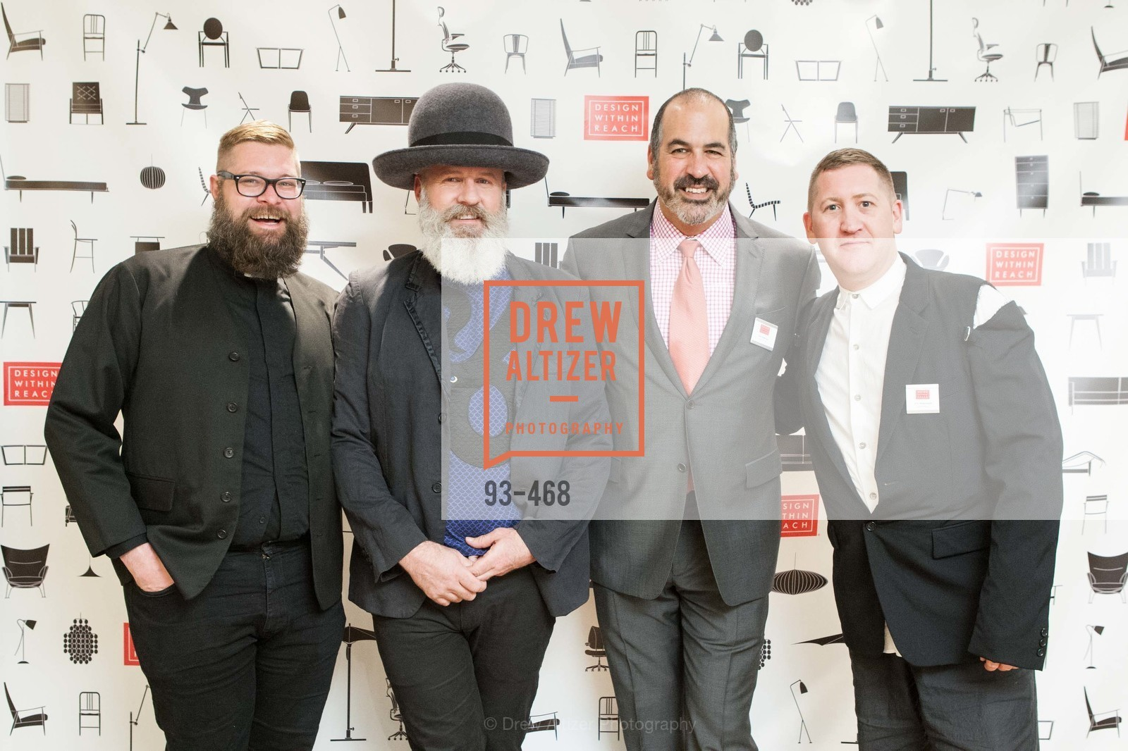 Rick Ray, Damian Carver, John Edelman, Eric Hildebrandt, DESIGN WITHIN REACH Studio Opening, US. US, January 21st, 2014,Drew Altizer, Drew Altizer Photography, full-service agency, private events, San Francisco photographer, photographer california