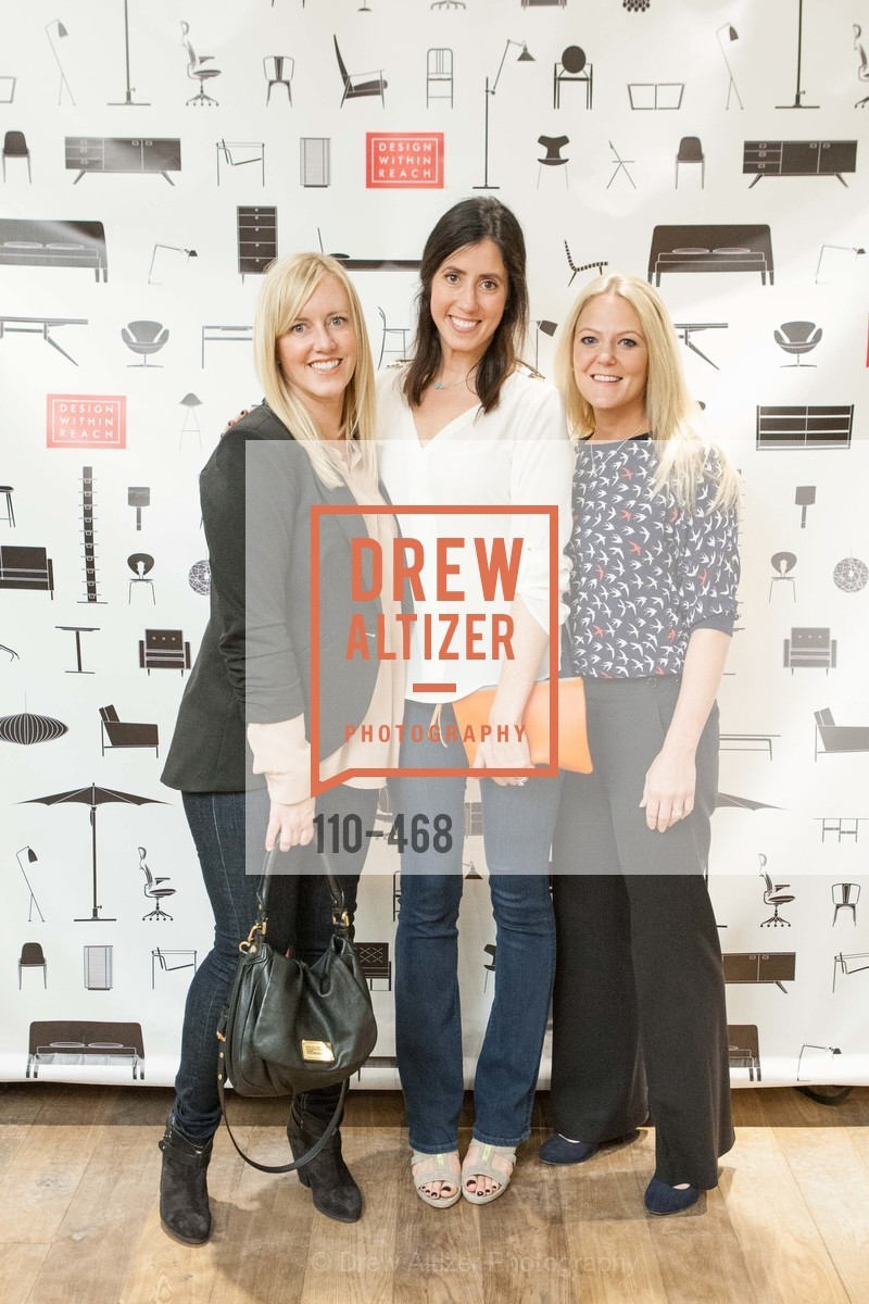 Alison Utne, Courtney Wells, Jolene Lindner, DESIGN WITHIN REACH Studio Opening, US. US, January 21st, 2014,Drew Altizer, Drew Altizer Photography, full-service agency, private events, San Francisco photographer, photographer california