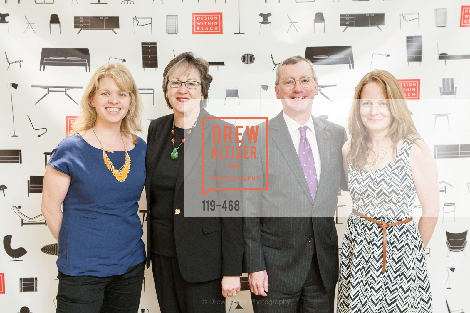 Kelly Prince, Sue Taylor, Allen Matthews, Deb Wandell, DESIGN WITHIN REACH Studio Opening, US. US, January 21st, 2014,Drew Altizer, Drew Altizer Photography, full-service event agency, private events, San Francisco photographer, photographer California