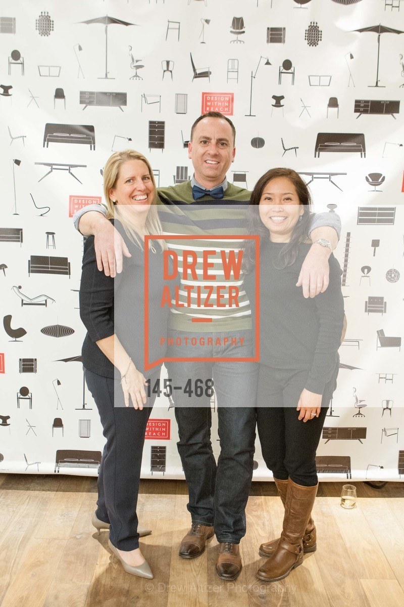 Kelly McGrath, Dave Dela Chevrotiere, Maxine Lies, DESIGN WITHIN REACH Studio Opening, US. US, January 21st, 2014,Drew Altizer, Drew Altizer Photography, full-service agency, private events, San Francisco photographer, photographer california
