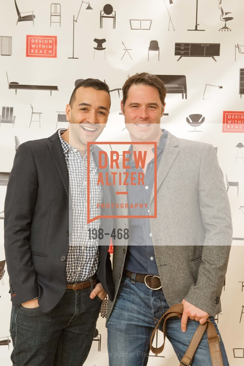 Hassan Makki, Andrew Hill, DESIGN WITHIN REACH Studio Opening, US. US, January 21st, 2014,Drew Altizer, Drew Altizer Photography, full-service agency, private events, San Francisco photographer, photographer california