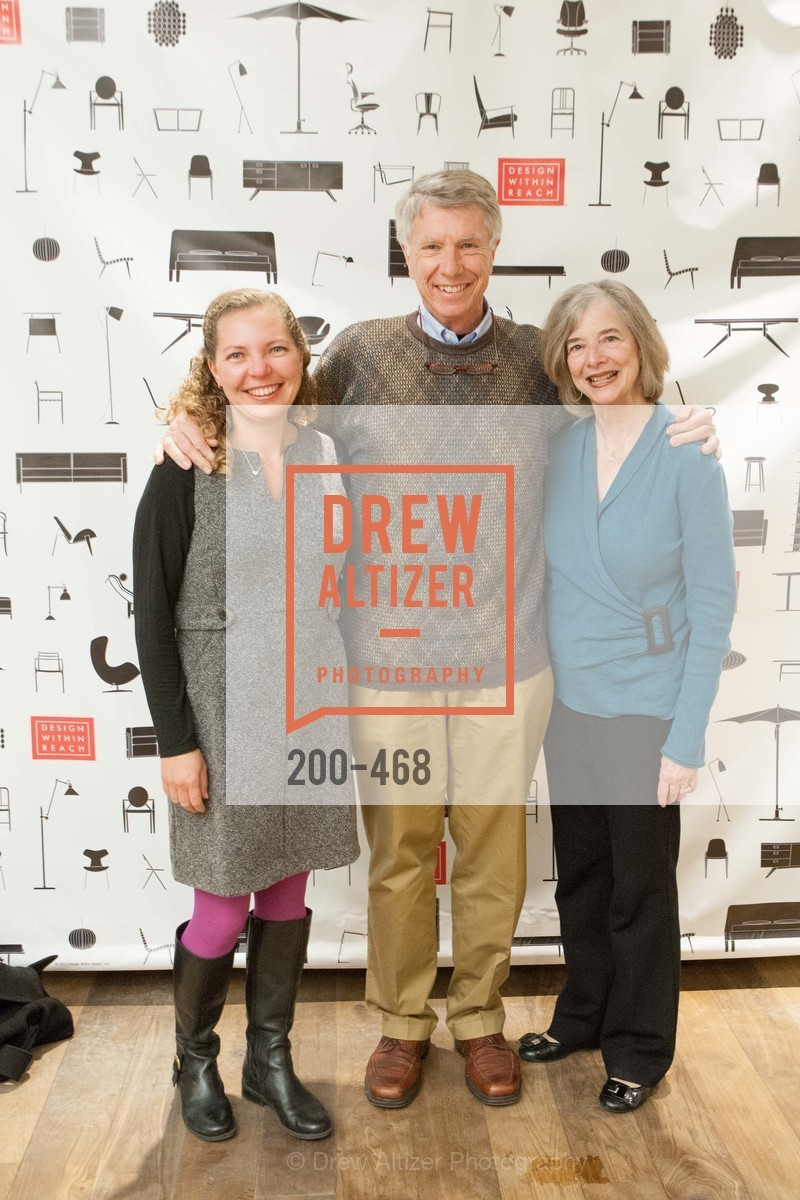 Luciana Downing, John Lenser, Marcia Lenser, DESIGN WITHIN REACH Studio Opening, US. US, January 21st, 2014,Drew Altizer, Drew Altizer Photography, full-service agency, private events, San Francisco photographer, photographer california
