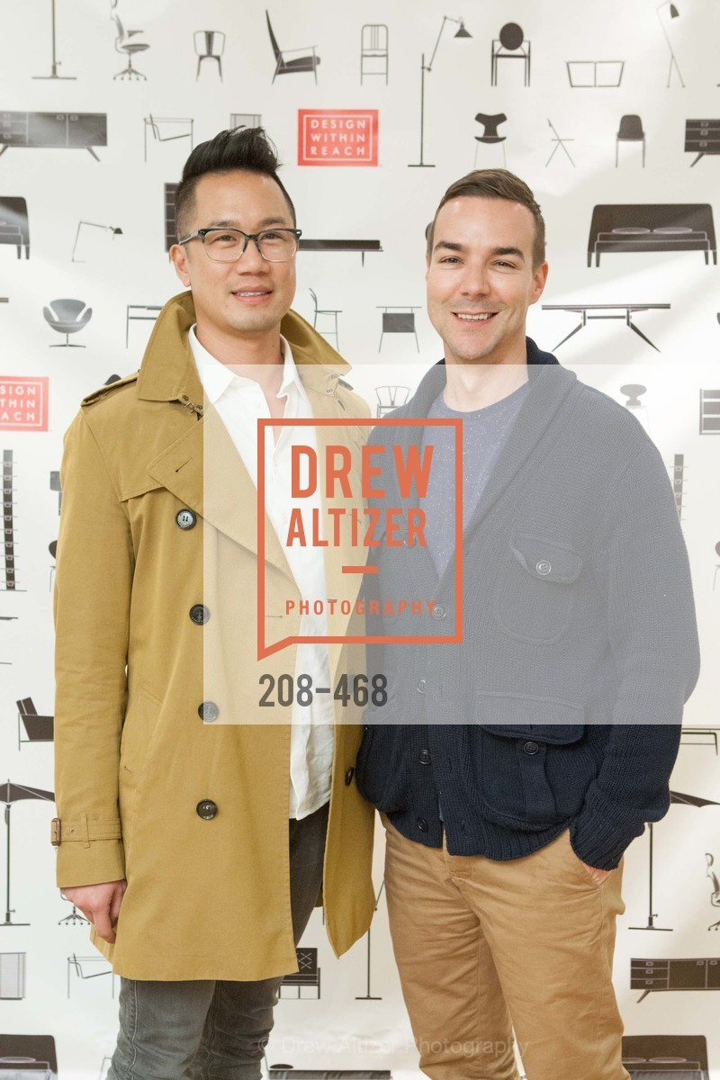 Gene Chan, Chad Bolick, DESIGN WITHIN REACH Studio Opening, US. US, January 21st, 2014,Drew Altizer, Drew Altizer Photography, full-service agency, private events, San Francisco photographer, photographer california
