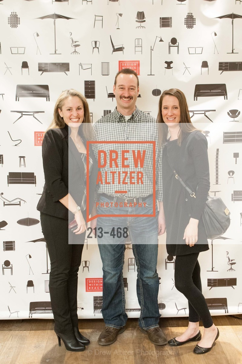 Lisa Hubbs, Craig Mulder, Casey Bond, DESIGN WITHIN REACH Studio Opening, US. US, January 21st, 2014,Drew Altizer, Drew Altizer Photography, full-service agency, private events, San Francisco photographer, photographer california