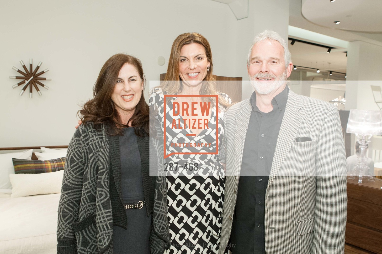 Jane Steel, Ann Sullivan, Tom Buckmaster, DESIGN WITHIN REACH Studio Opening, US. US, January 21st, 2014,Drew Altizer, Drew Altizer Photography, full-service agency, private events, San Francisco photographer, photographer california