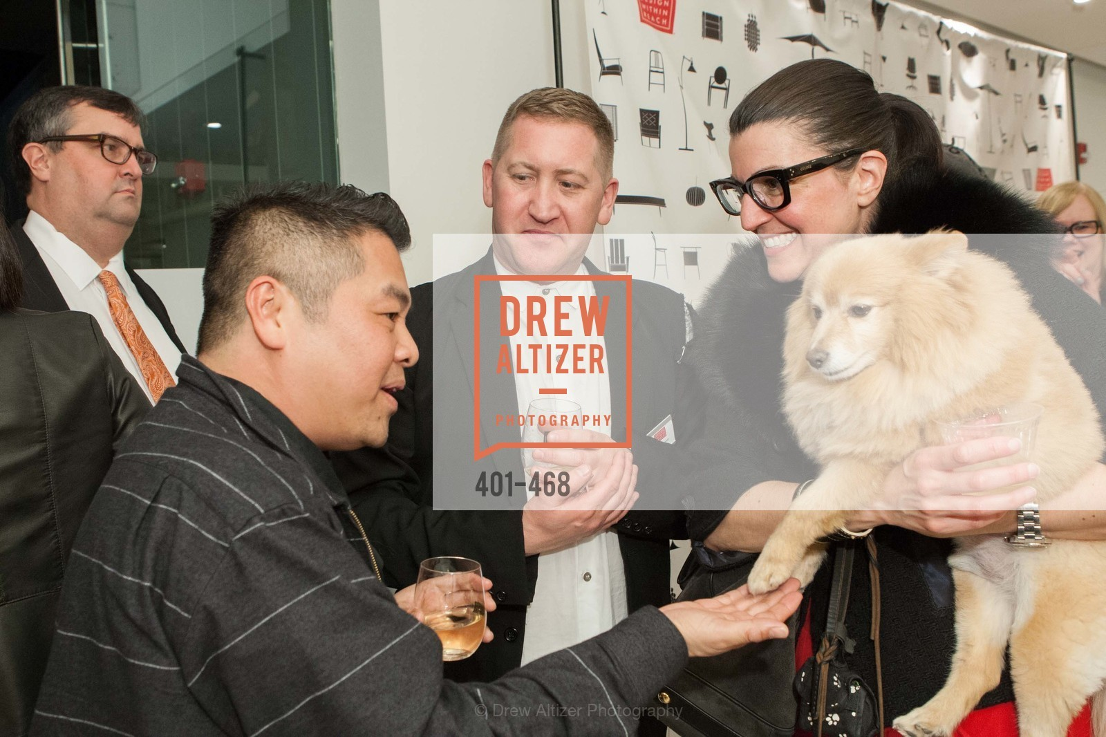 De Kwok, Eric Hildebrandt, Janet Walder, DESIGN WITHIN REACH Studio Opening, US. US, January 21st, 2014,Drew Altizer, Drew Altizer Photography, full-service agency, private events, San Francisco photographer, photographer california