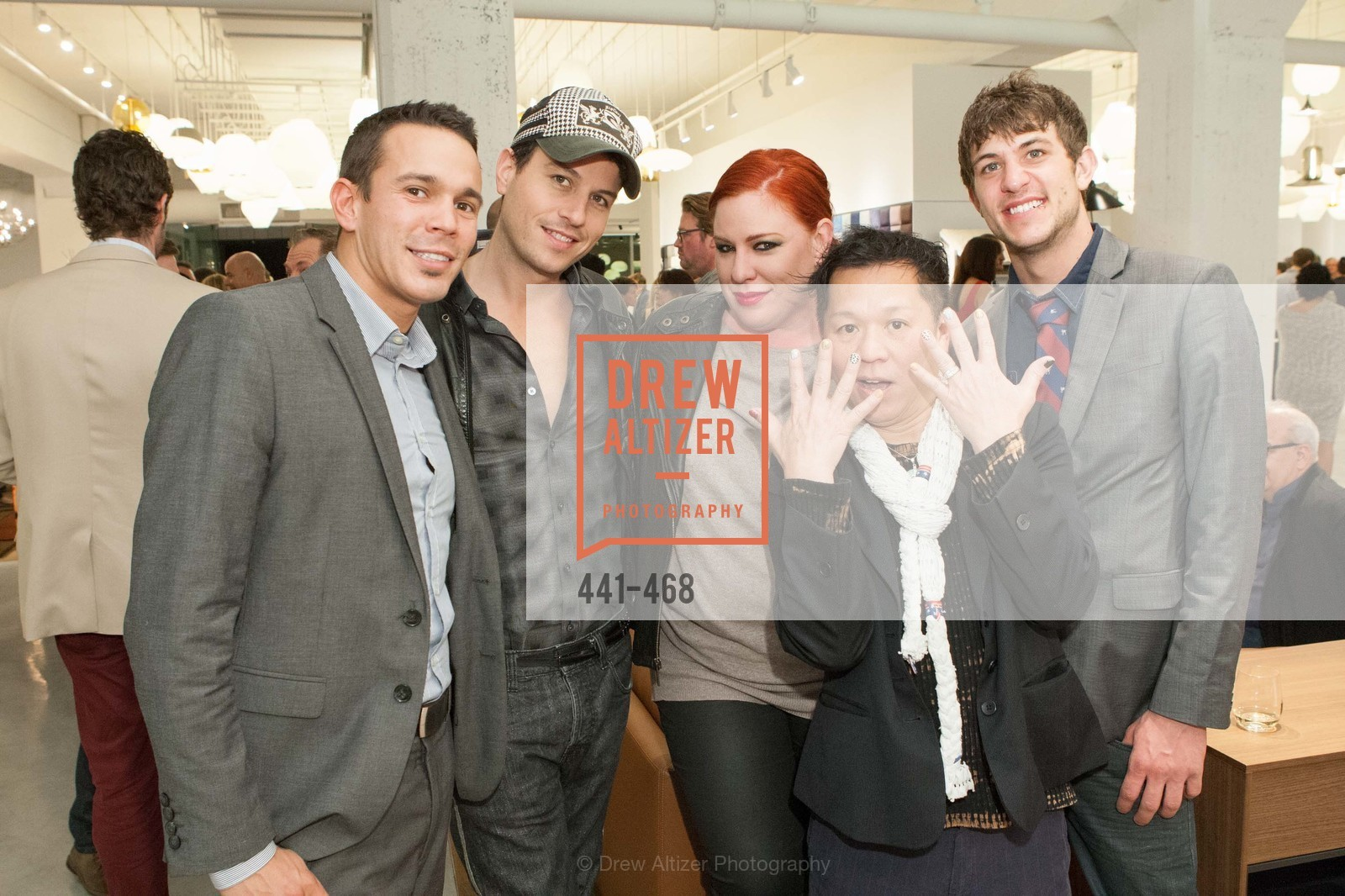 Mykul Chretein, Traver Raims, Diana Coney, Baby Chic, Aaron Muraski, DESIGN WITHIN REACH Studio Opening, US. US, January 21st, 2014,Drew Altizer, Drew Altizer Photography, full-service event agency, private events, San Francisco photographer, photographer California