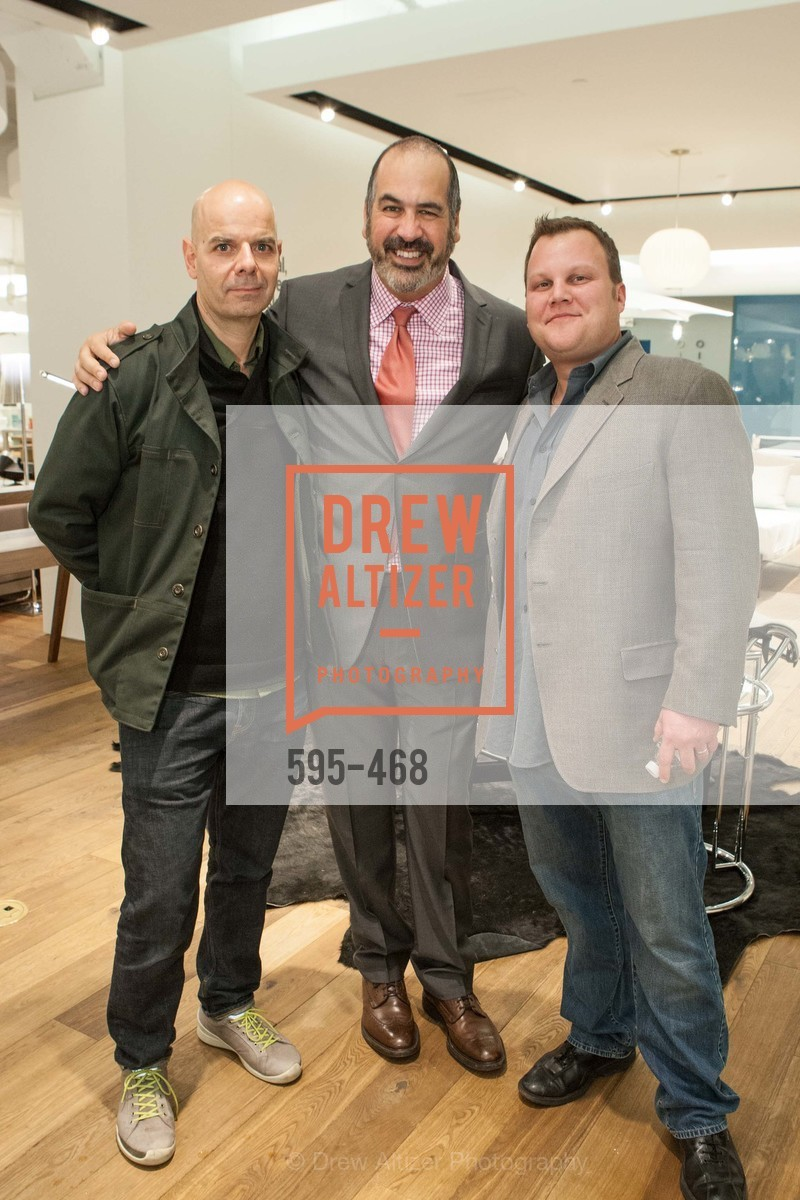 Pablo Cordon, John Edelman, Blair Hutkin, DESIGN WITHIN REACH Studio Opening, US. US, January 21st, 2014,Drew Altizer, Drew Altizer Photography, full-service agency, private events, San Francisco photographer, photographer california