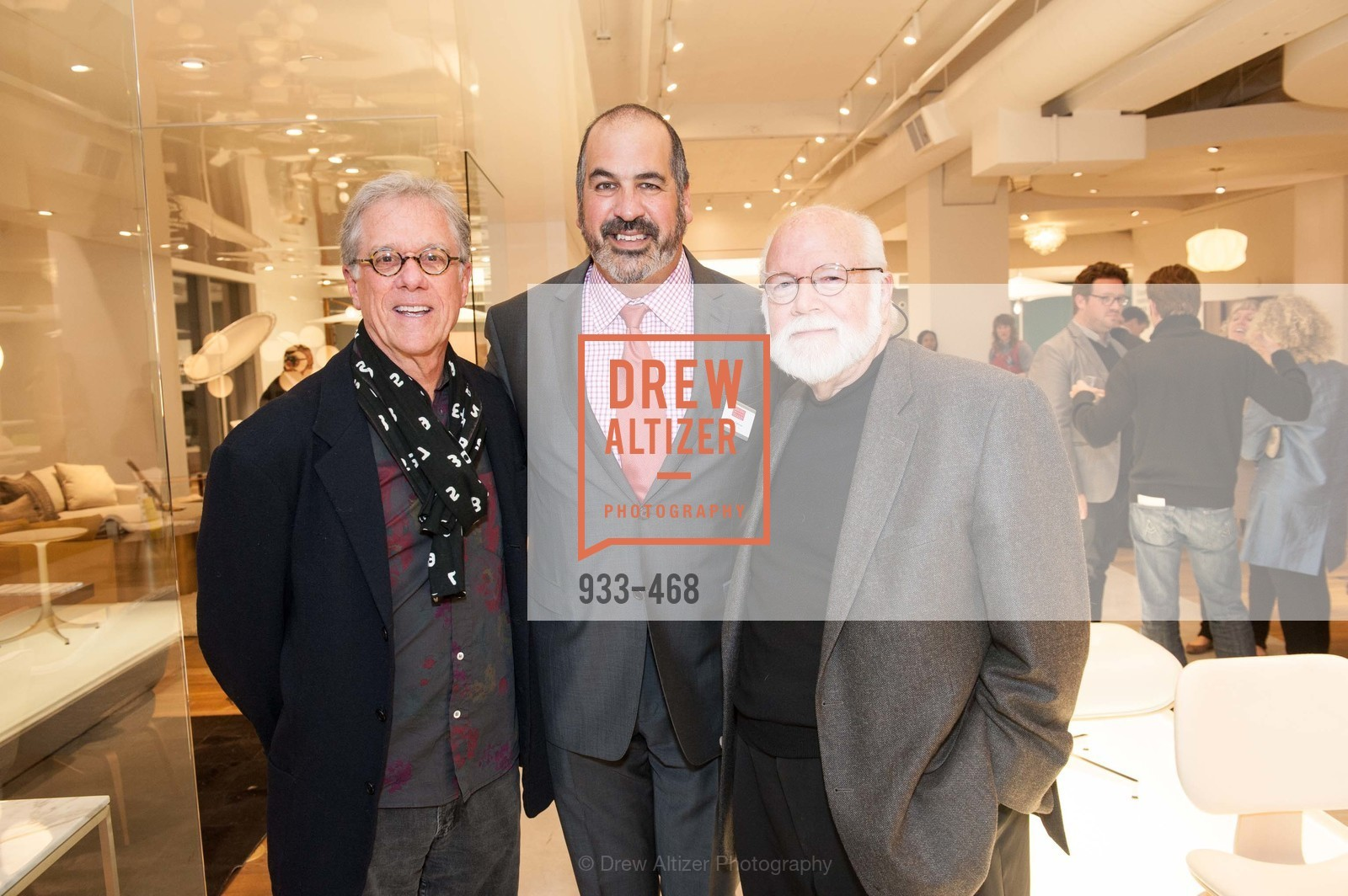 Rob Forbes, John Edelma, Kit Hinrichs, DESIGN WITHIN REACH Studio Opening, US. US, January 21st, 2014,Drew Altizer, Drew Altizer Photography, full-service agency, private events, San Francisco photographer, photographer california