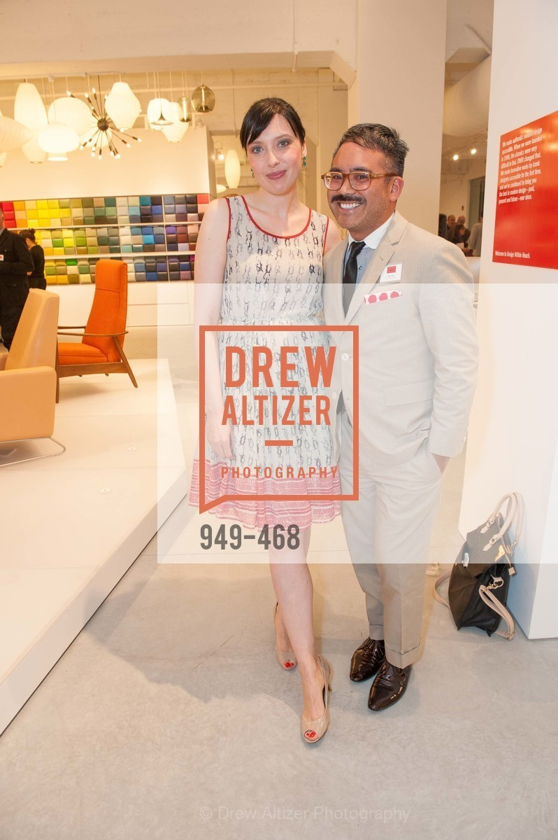 Eva Karwowska, Tony Sison, DESIGN WITHIN REACH Studio Opening, US. US, January 21st, 2014,Drew Altizer, Drew Altizer Photography, full-service agency, private events, San Francisco photographer, photographer california