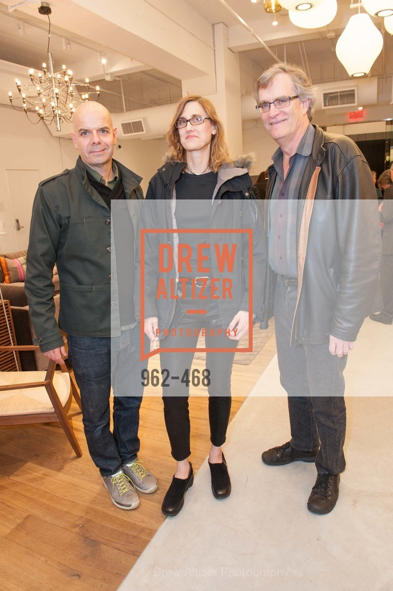 Pablo Cordon, Yvette Sherman, Robert Boyd, DESIGN WITHIN REACH Studio Opening, US. US, January 21st, 2014,Drew Altizer, Drew Altizer Photography, full-service agency, private events, San Francisco photographer, photographer california