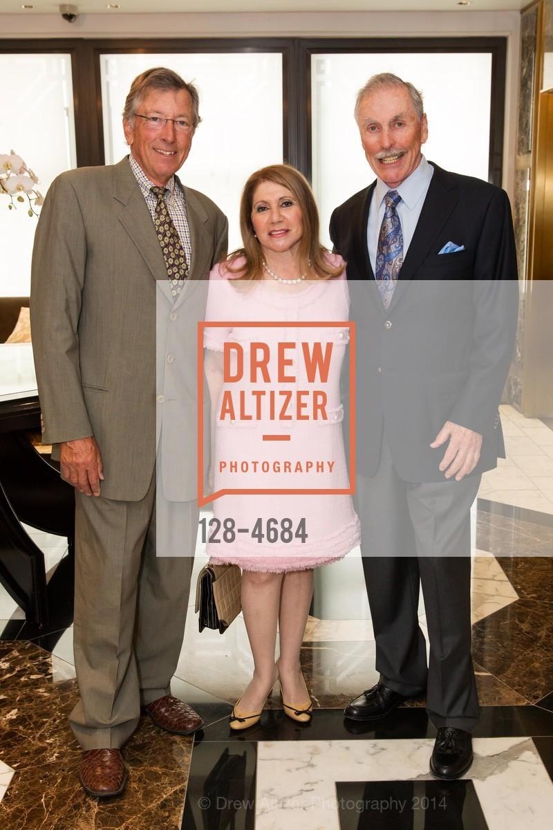 Dick Watts, Athena Blackburn, Harvey Glasser, Photo #128-4684
