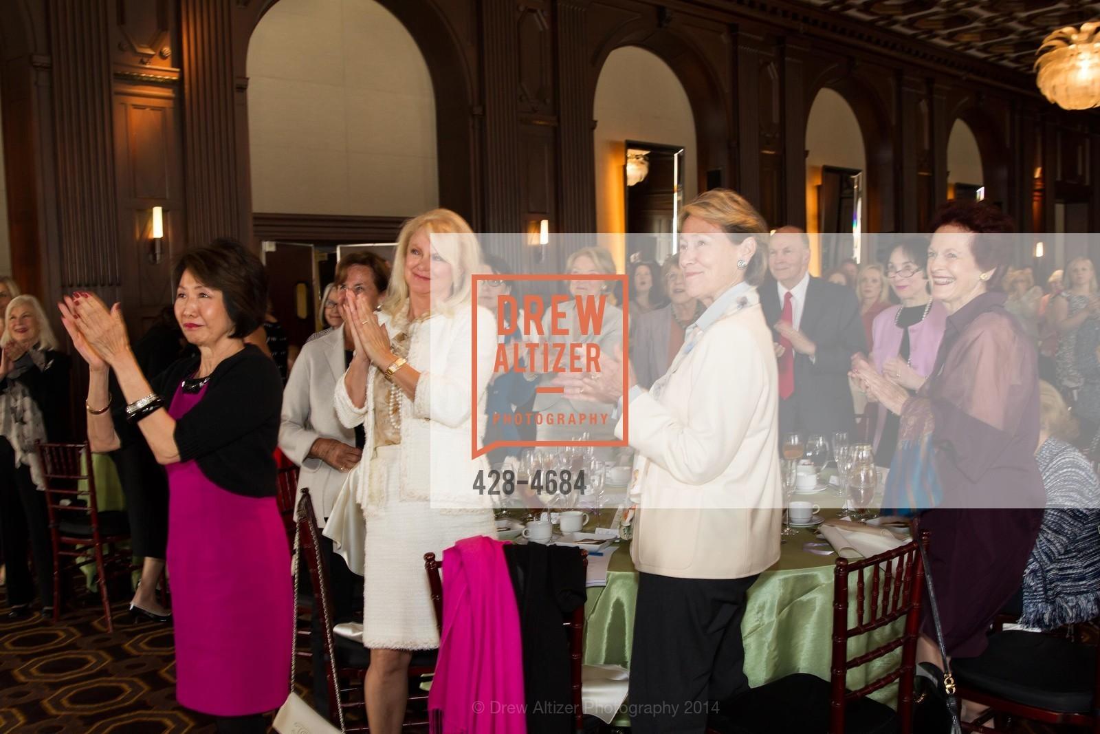Jan Yanehiro, Chandra Friese, Linda Millard, Helen Hilton Raiser, Photo #428-4684
