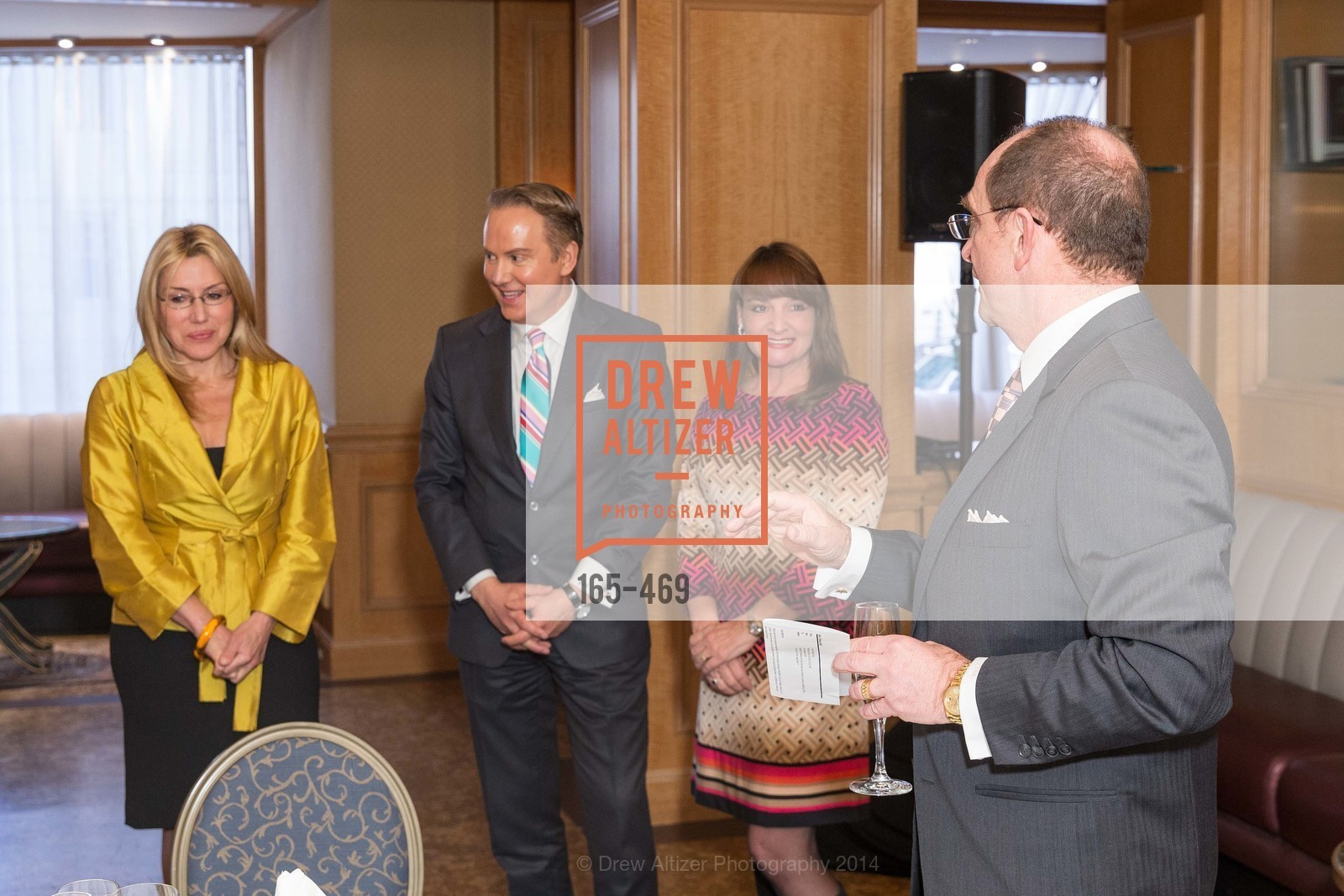 """Extras, FAIRMONT LUNCHEON for CNBC """"Secret Lives of the Super Rich."""", January 21st, 2014, Photo"""
