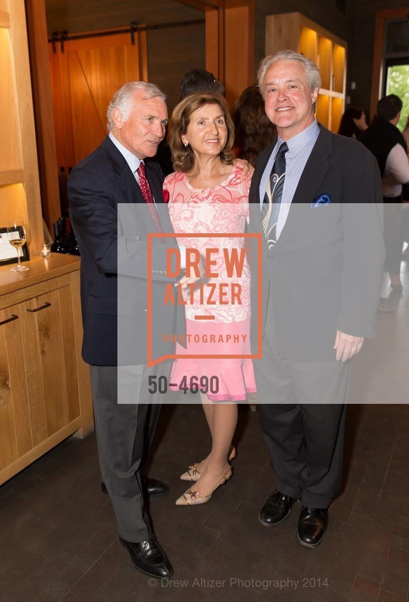 Antonio Castellucci, Rita Castellucci, Daniel Brewbaker, Photo #50-4690