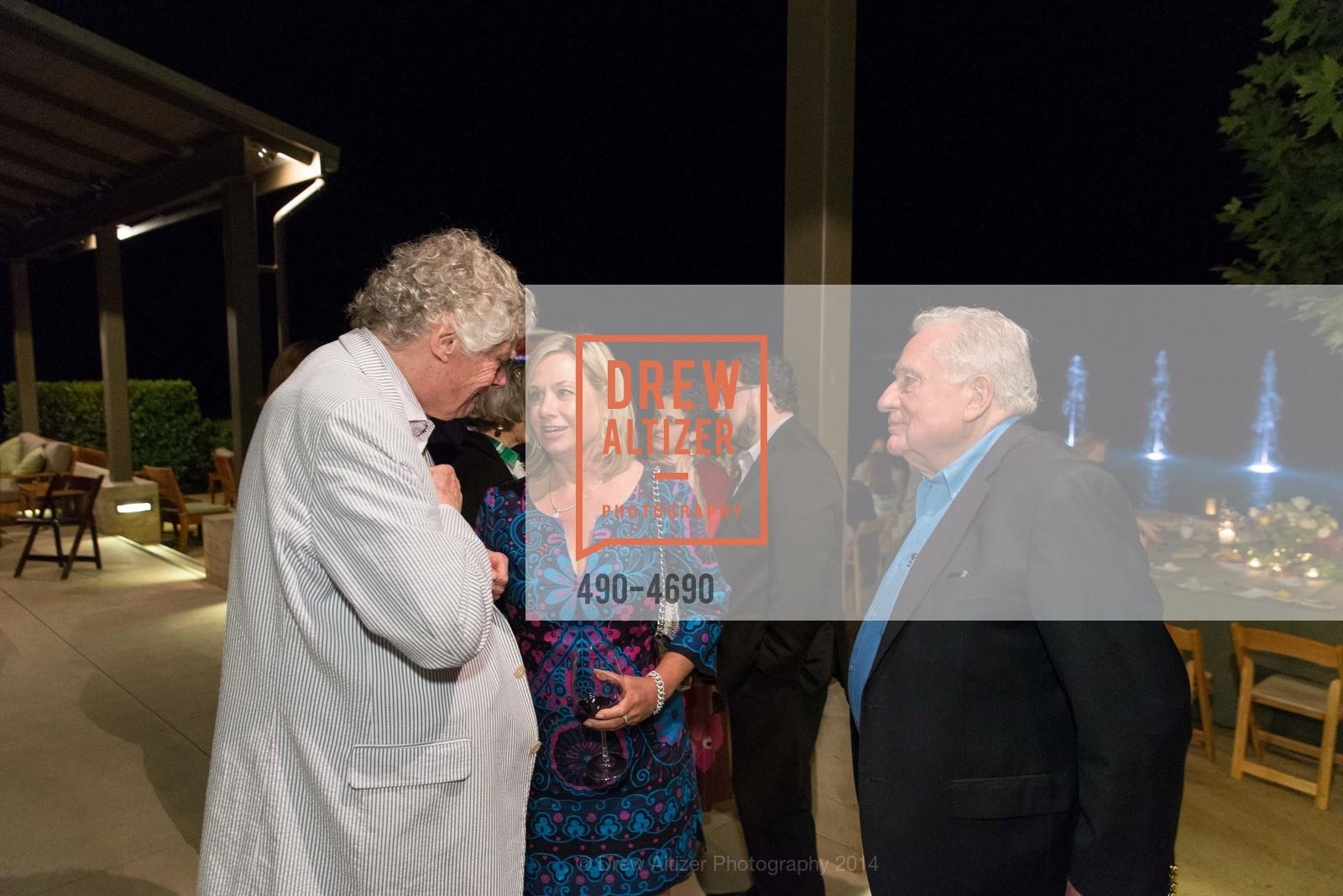 Gordon Getty, Lisa McCubbin, Clint Hill, Photo #490-4690