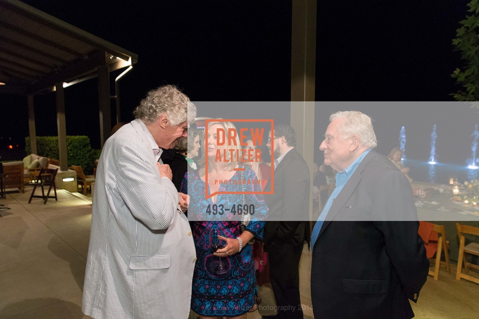 Gordon Getty, Lisa McCubbin, Clint Hill, Photo #493-4690