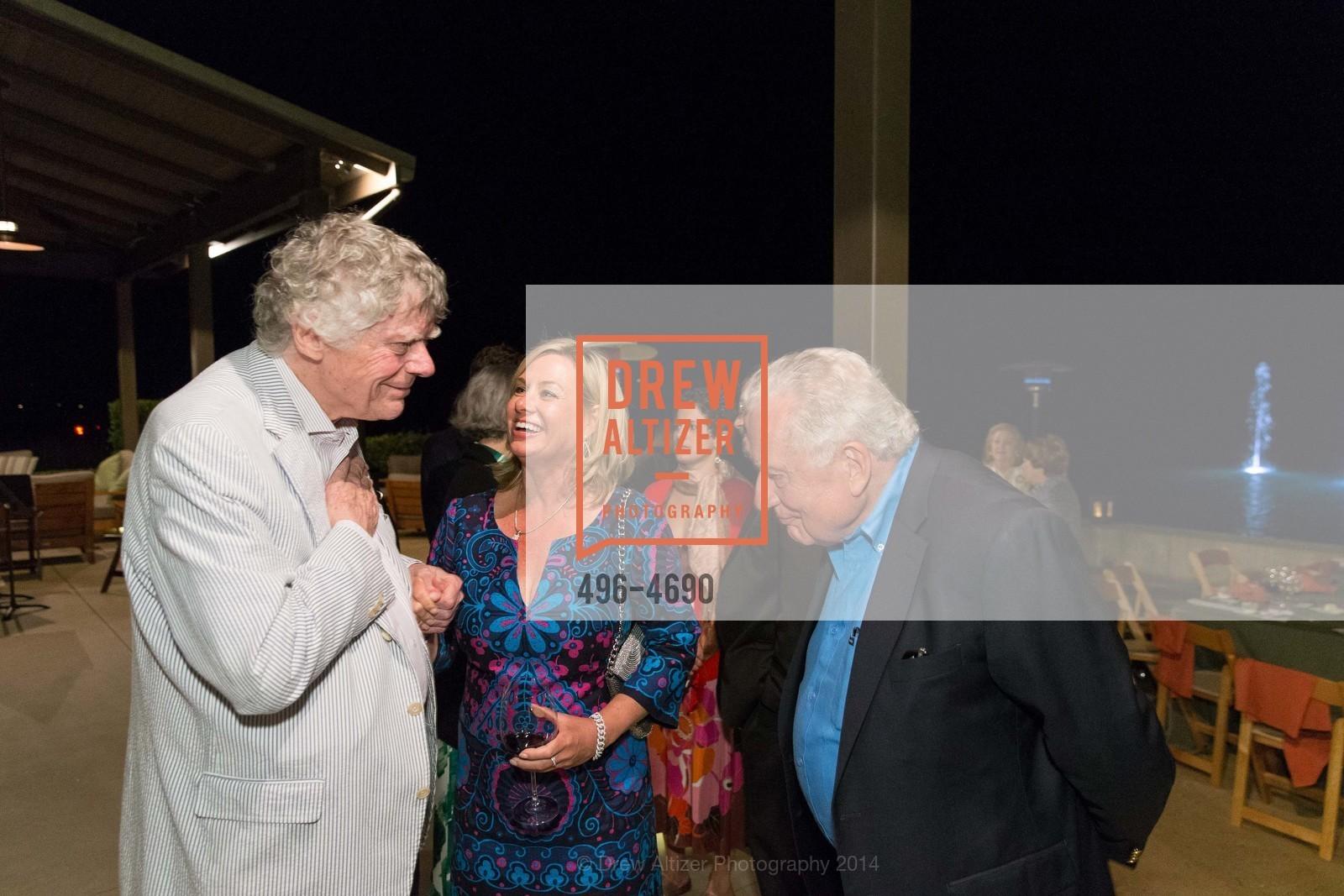 Gordon Getty, Lisa McCubbin, Clint Hill, Photo #496-4690