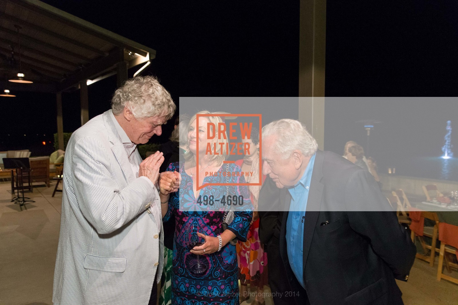 Gordon Getty, Lisa McCubbin, Clint Hill, Photo #498-4690
