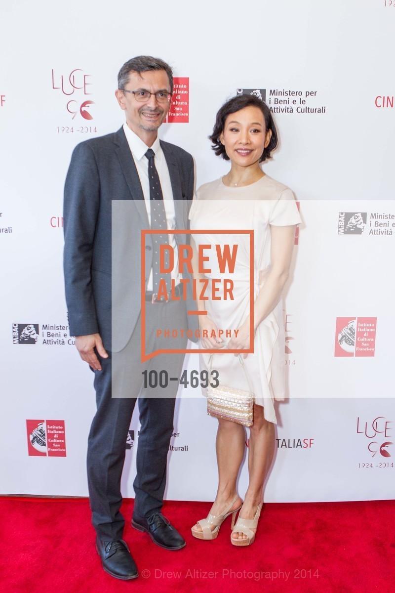 Paolo Barlera, Joan Chen, Photo #100-4693