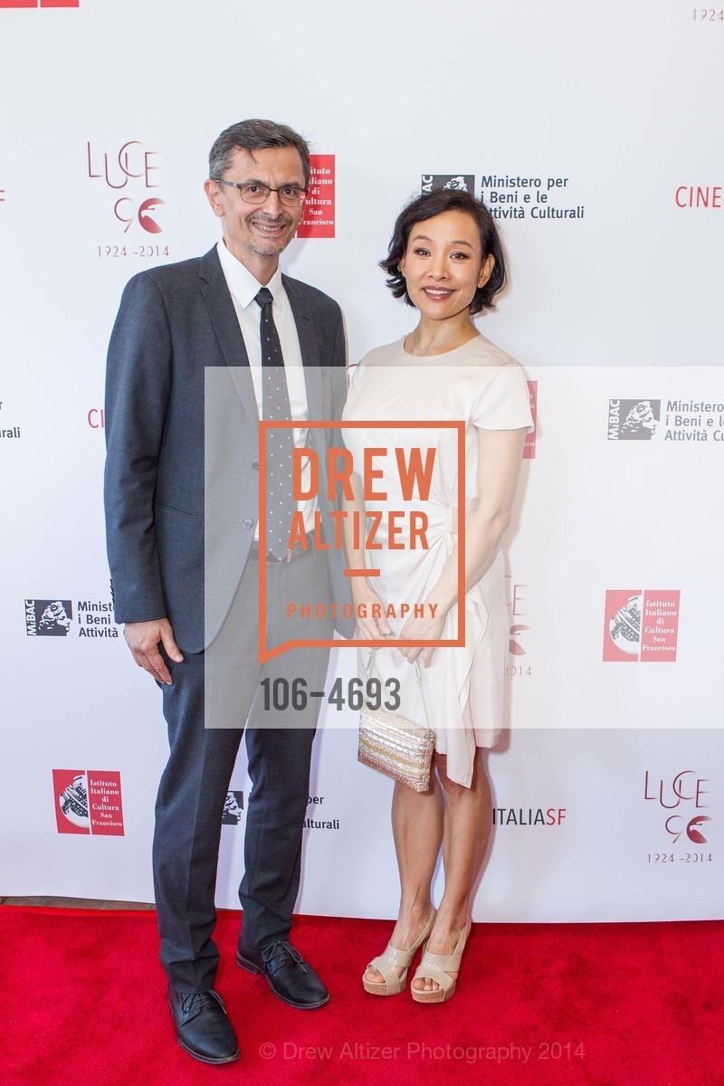 Paolo Barlera, Joan Chen, Photo #106-4693
