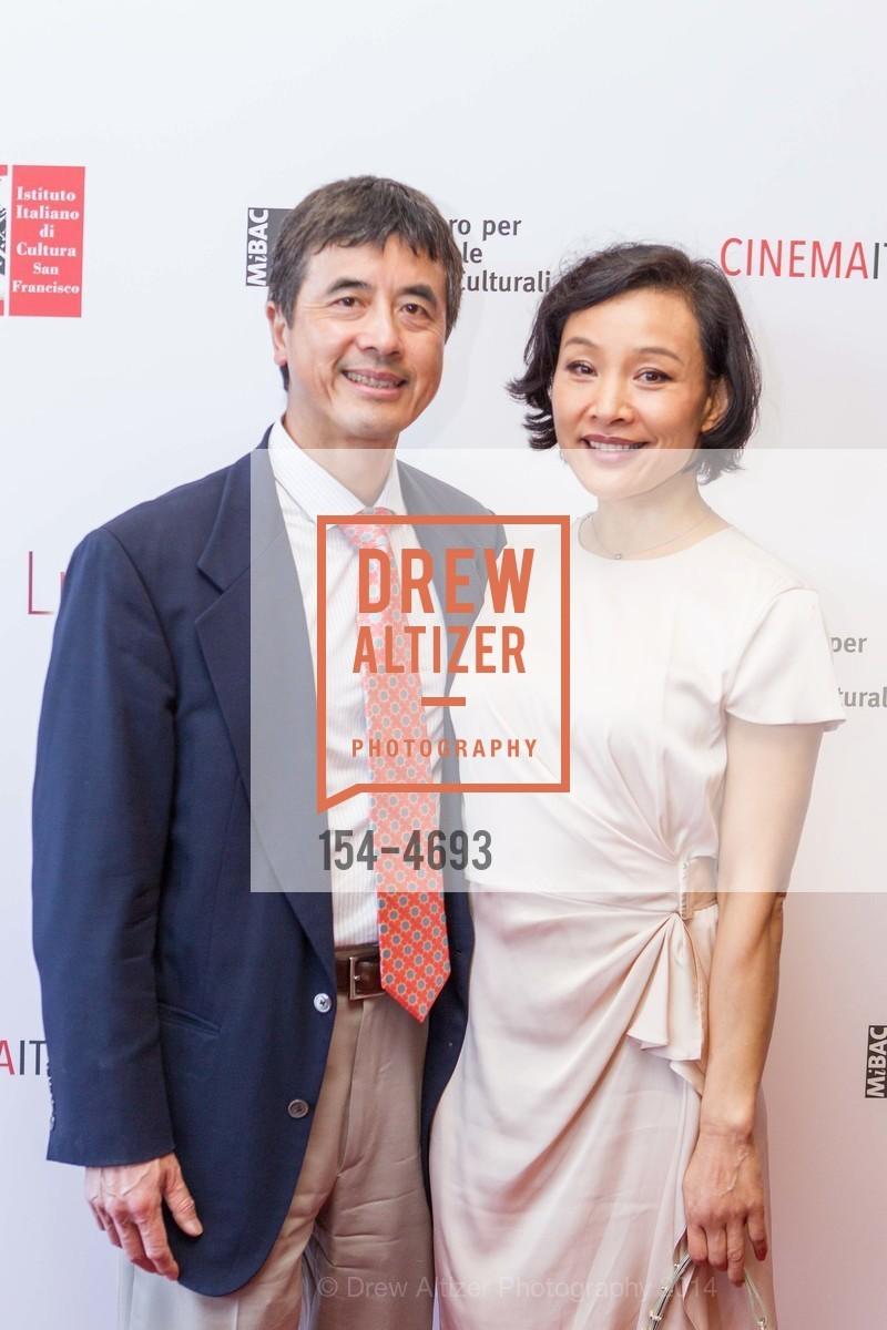 Peter Hui, Joan Chen, Photo #154-4693
