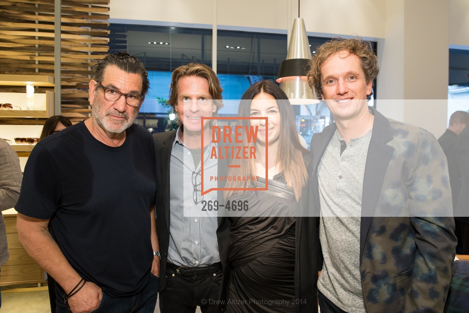 Larry Leight, David Schulte, Sabrina Buell, Yves Behar, Photo #269-4696