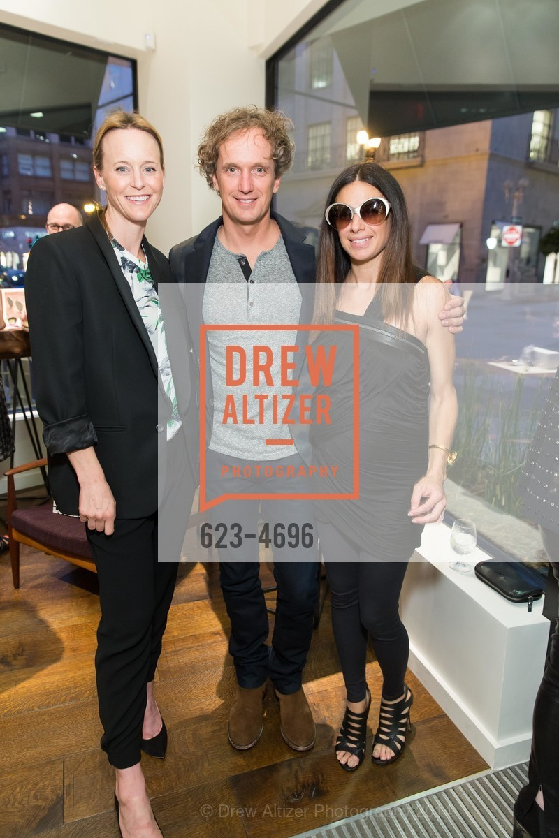 Kristen Evans, Yves Behar, Sabrina Buell, Photo #623-4696