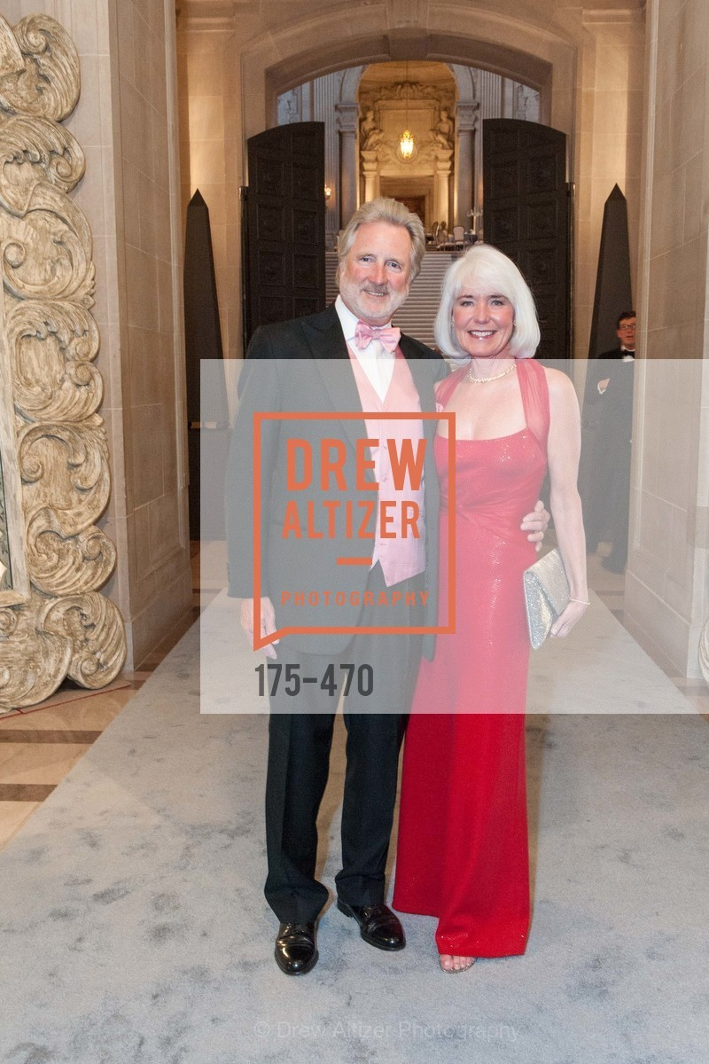Steve Burrill, Kelly Burrill, SAN FRANCISCO BALLET Opening Night Gala: PHENOMENAL - Arrivals, US. SF City Hall, January 22nd, 2014,Drew Altizer, Drew Altizer Photography, full-service agency, private events, San Francisco photographer, photographer california