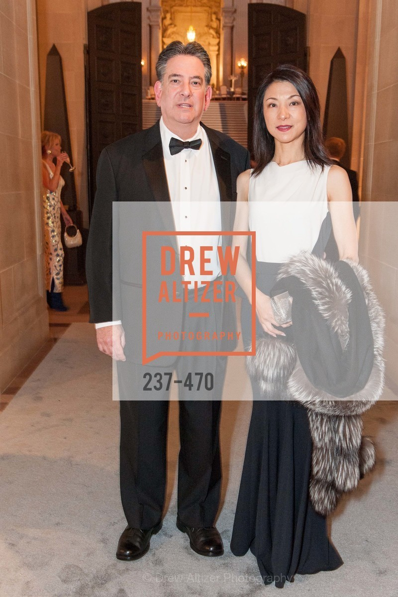 Andrew Gelb, Xiao Pei Gelb, SAN FRANCISCO BALLET Opening Night Gala: PHENOMENAL - Arrivals, US. SF City Hall, January 22nd, 2014,Drew Altizer, Drew Altizer Photography, full-service agency, private events, San Francisco photographer, photographer california