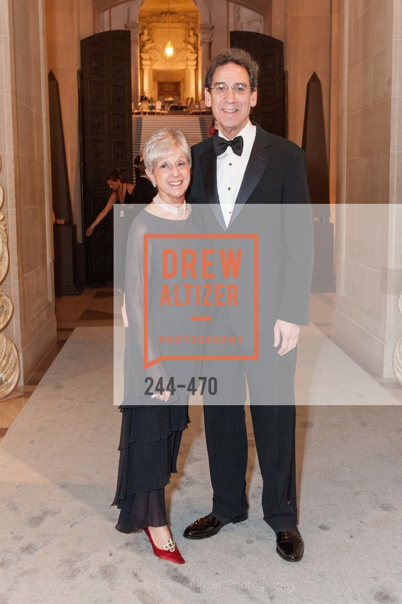 Nancy Livingston, Fred Levin, SAN FRANCISCO BALLET Opening Night Gala: PHENOMENAL - Arrivals, US. SF City Hall, January 22nd, 2014,Drew Altizer, Drew Altizer Photography, full-service agency, private events, San Francisco photographer, photographer california