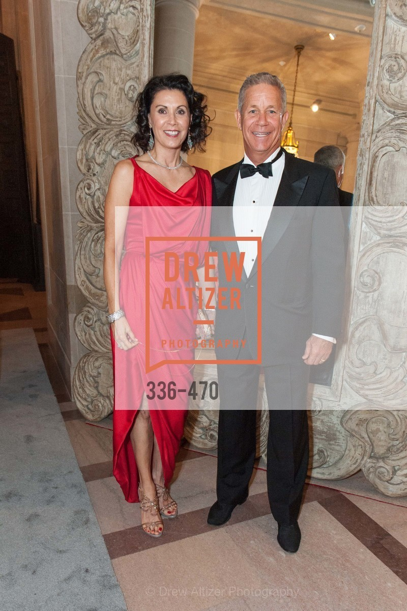 Louise Chess, Steve Chess, SAN FRANCISCO BALLET Opening Night Gala: PHENOMENAL - Arrivals, US. SF City Hall, January 22nd, 2014,Drew Altizer, Drew Altizer Photography, full-service agency, private events, San Francisco photographer, photographer california