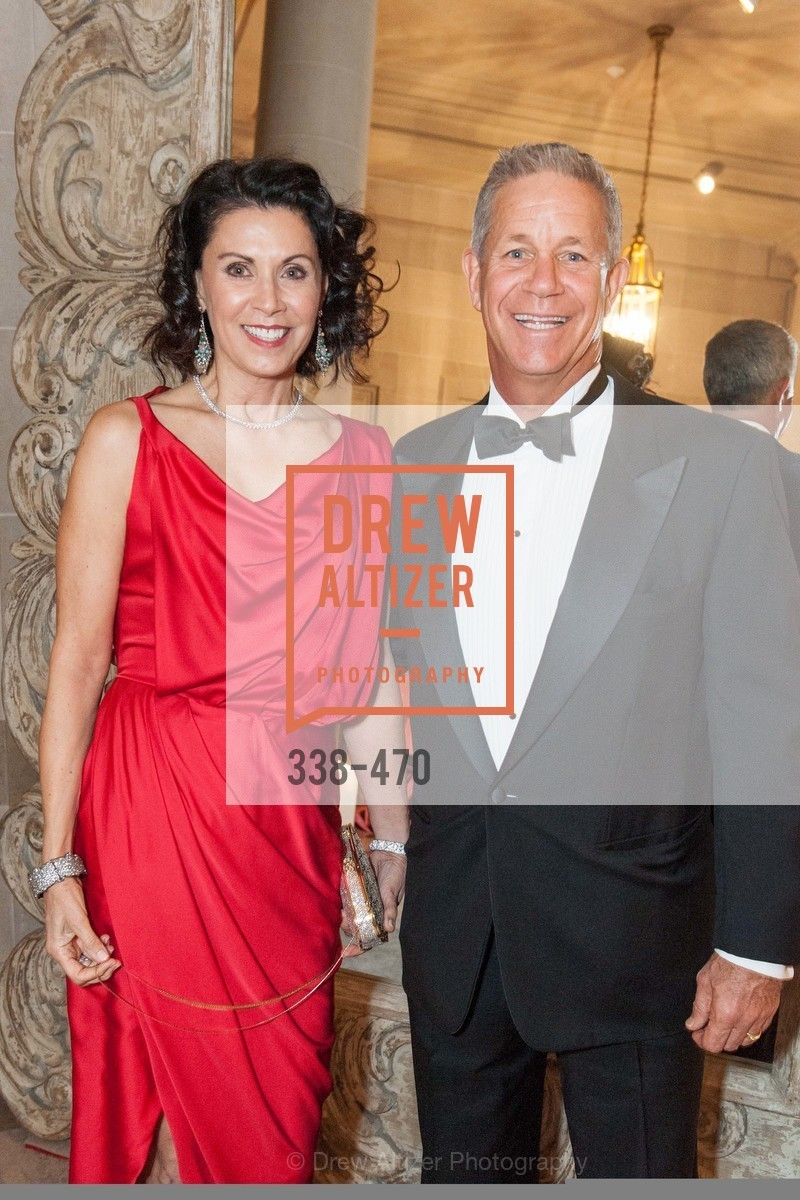 Steve Chess, Lois Chess, SAN FRANCISCO BALLET Opening Night Gala: PHENOMENAL - Arrivals, US. SF City Hall, January 22nd, 2014,Drew Altizer, Drew Altizer Photography, full-service agency, private events, San Francisco photographer, photographer california