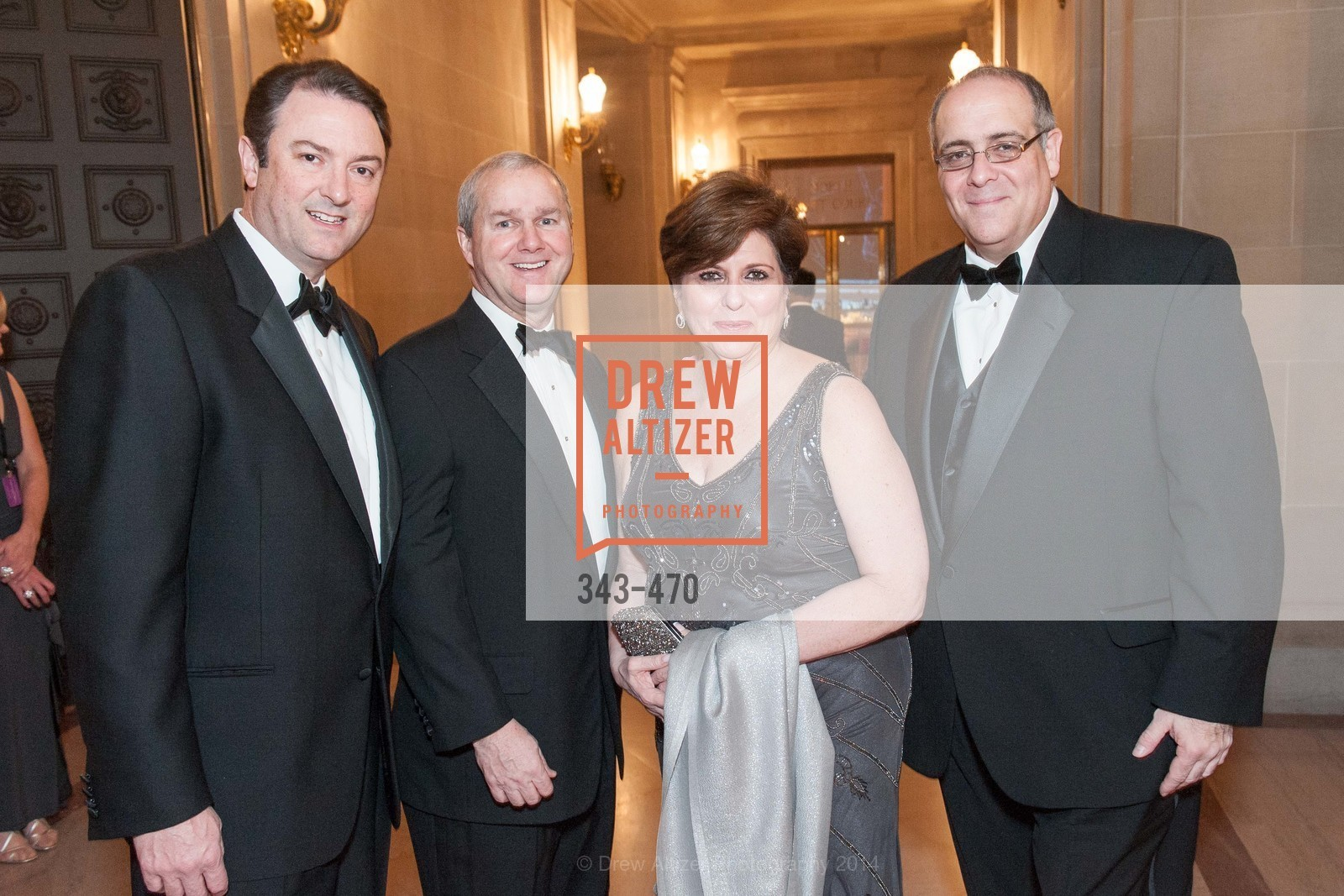 Mark Pttsey, Gerald Joyce, Laurie Wojcik, Jose Rasco, SAN FRANCISCO BALLET Opening Night Gala: PHENOMENAL - Arrivals, US. SF City Hall, January 22nd, 2014,Drew Altizer, Drew Altizer Photography, full-service agency, private events, San Francisco photographer, photographer california