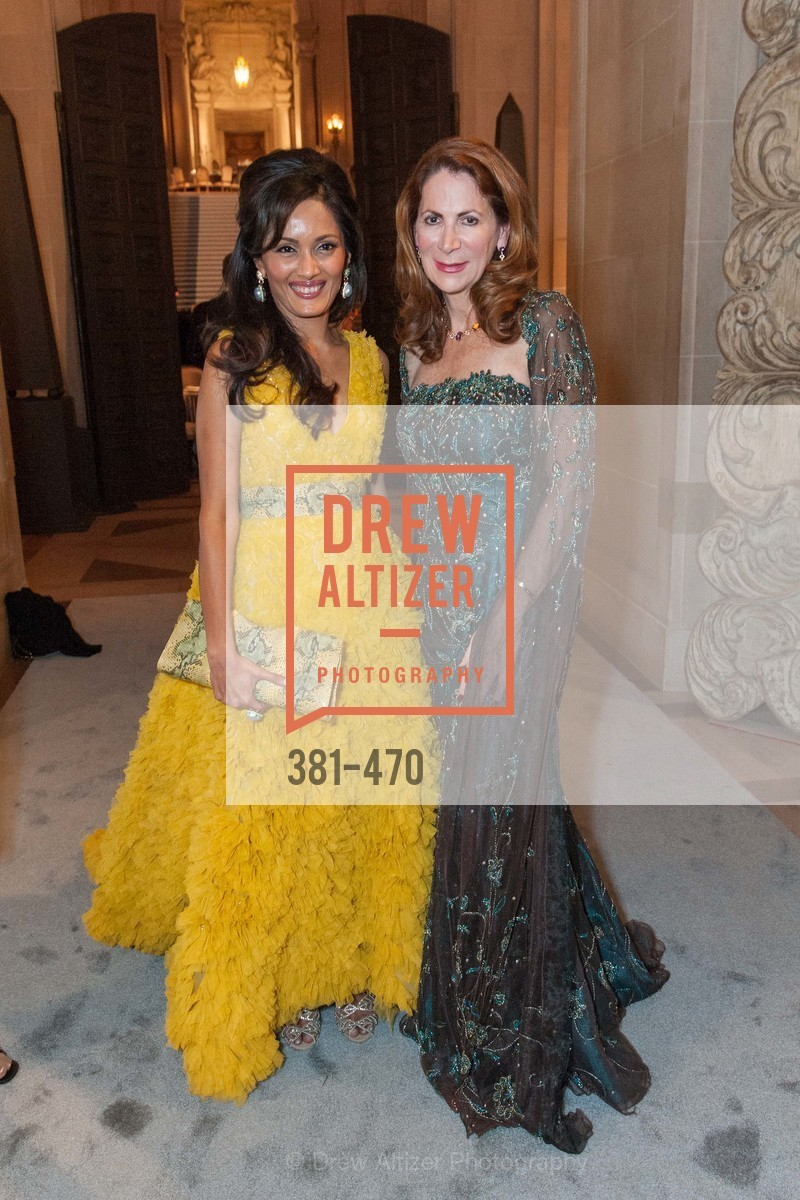 Komal Shah, Patricia Ferrin Loucks, SAN FRANCISCO BALLET Opening Night Gala: PHENOMENAL - Arrivals, US. SF City Hall, January 22nd, 2014,Drew Altizer, Drew Altizer Photography, full-service agency, private events, San Francisco photographer, photographer california