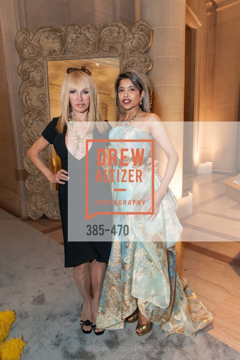 Elisabeth Laurence, Deepa Pakianathan, SAN FRANCISCO BALLET Opening Night Gala: PHENOMENAL - Arrivals, US. SF City Hall, January 22nd, 2014,Drew Altizer, Drew Altizer Photography, full-service agency, private events, San Francisco photographer, photographer california