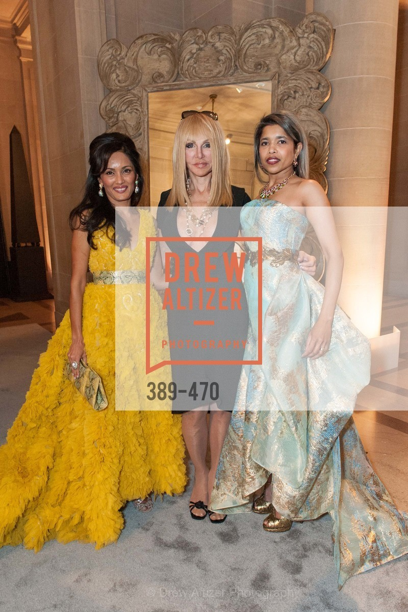 Komal Shah, Elisabeth Laurence, Deepa Pakianathan, SAN FRANCISCO BALLET Opening Night Gala: PHENOMENAL - Arrivals, US. SF City Hall, January 22nd, 2014,Drew Altizer, Drew Altizer Photography, full-service agency, private events, San Francisco photographer, photographer california
