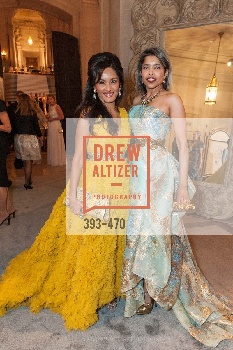 Komal Shah, Deepa Pakianathan, SAN FRANCISCO BALLET Opening Night Gala: PHENOMENAL - Arrivals, US. SF City Hall, January 22nd, 2014,Drew Altizer, Drew Altizer Photography, full-service agency, private events, San Francisco photographer, photographer california