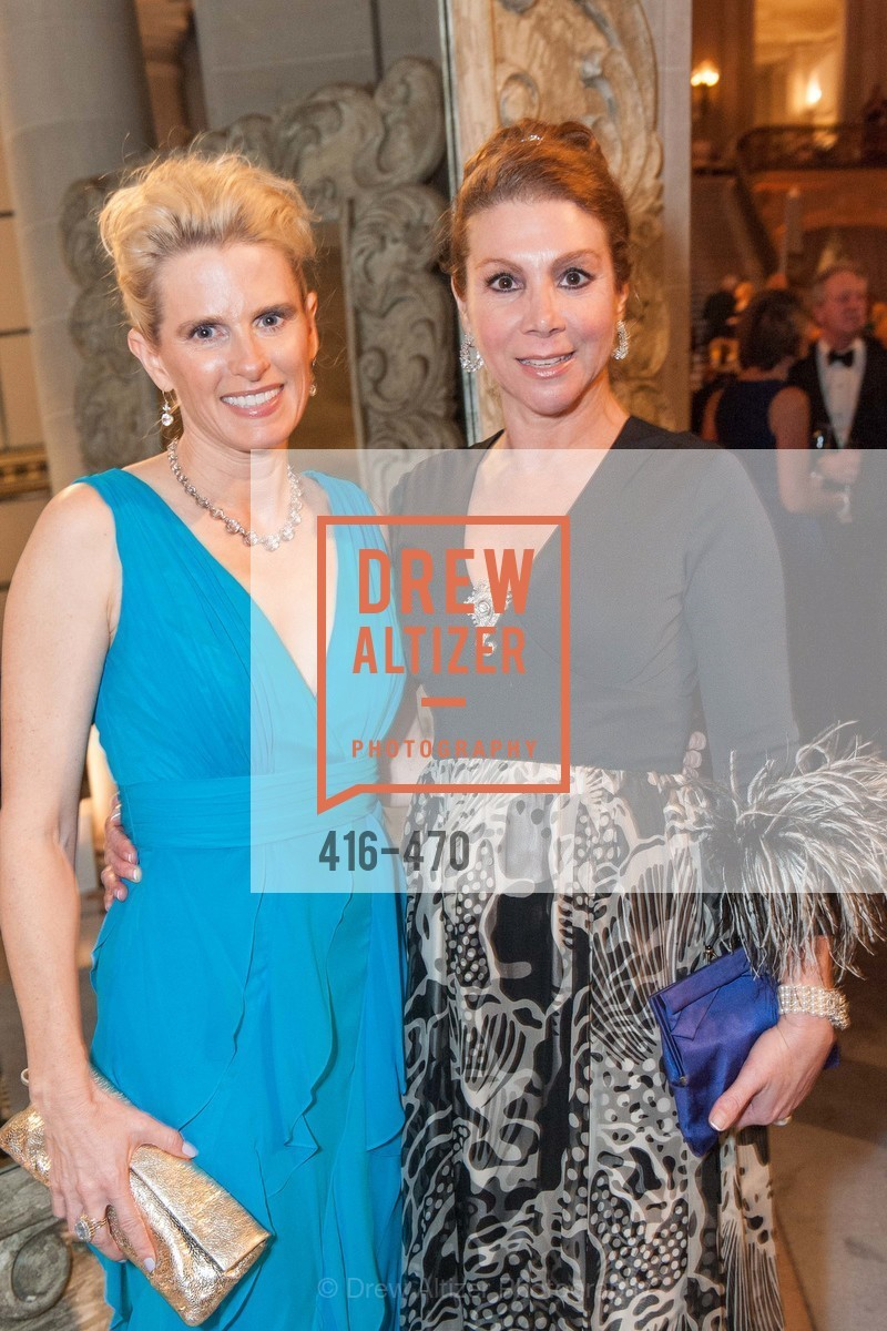 Marie Hurabiell, Debra Leylegian, SAN FRANCISCO BALLET Opening Night Gala: PHENOMENAL - Arrivals, US. SF City Hall, January 22nd, 2014,Drew Altizer, Drew Altizer Photography, full-service agency, private events, San Francisco photographer, photographer california