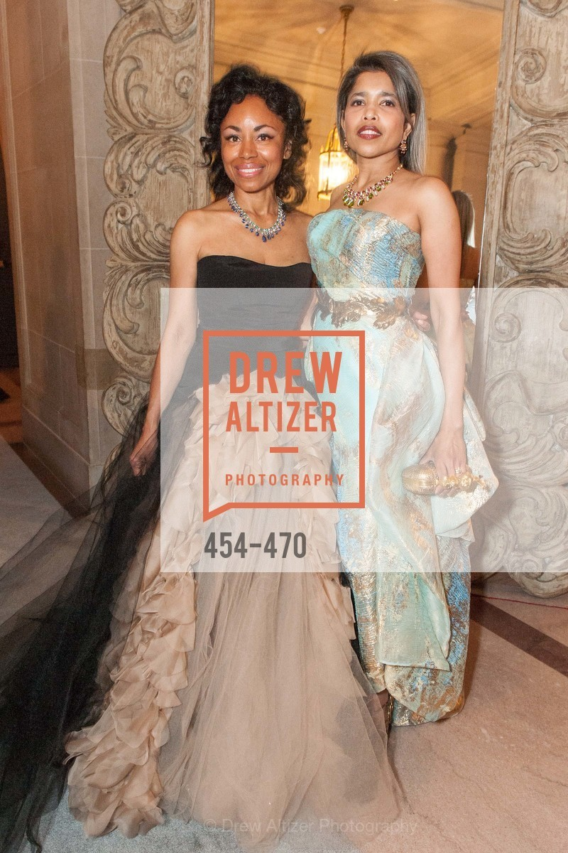 Tanya Powell, Deepa Pakianathan, SAN FRANCISCO BALLET Opening Night Gala: PHENOMENAL - Arrivals, US. SF City Hall, January 22nd, 2014,Drew Altizer, Drew Altizer Photography, full-service event agency, private events, San Francisco photographer, photographer California