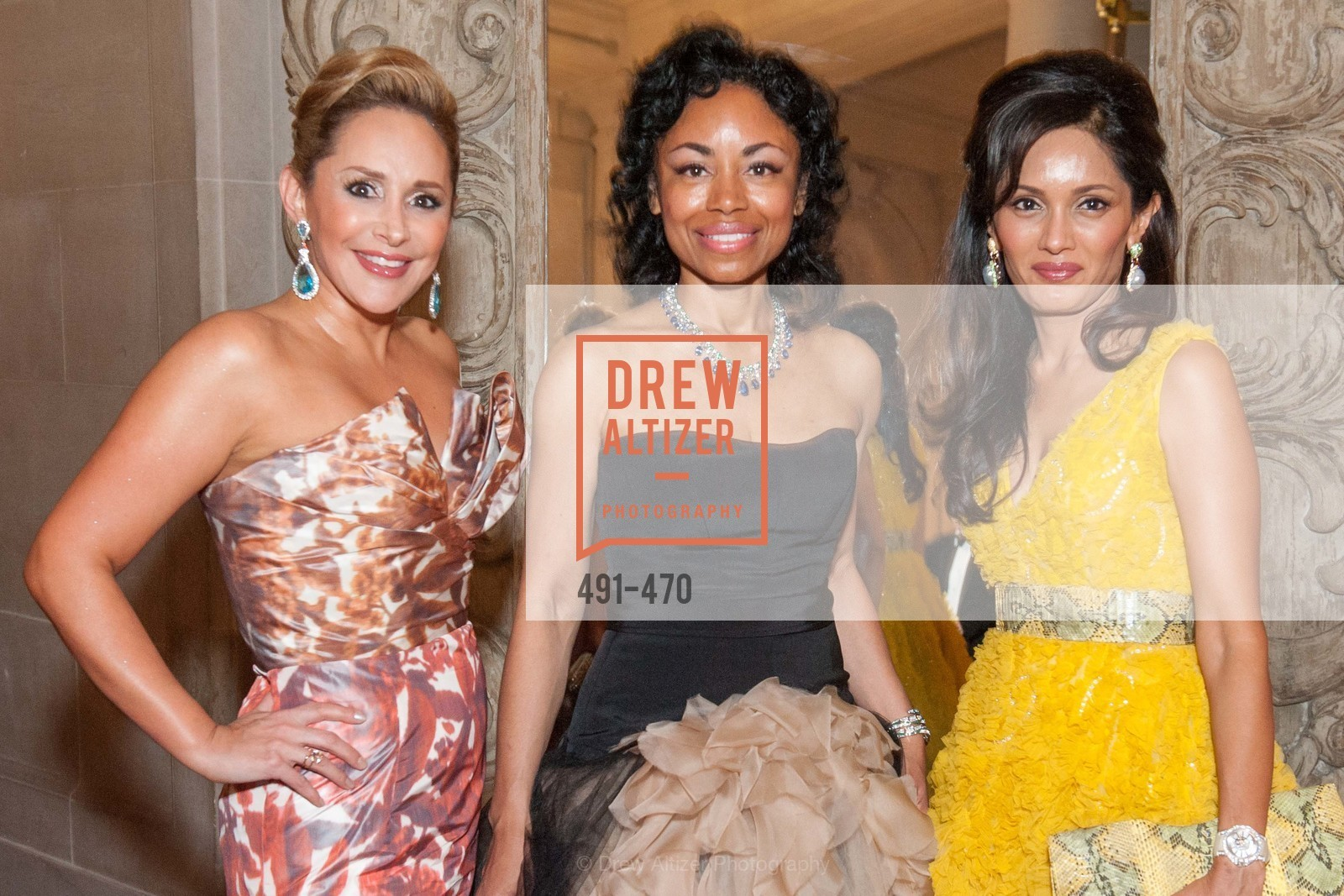 Brenda Zarate, Tanya Powell, Komal Shah, SAN FRANCISCO BALLET Opening Night Gala: PHENOMENAL - Arrivals, US. SF City Hall, January 22nd, 2014,Drew Altizer, Drew Altizer Photography, full-service event agency, private events, San Francisco photographer, photographer California