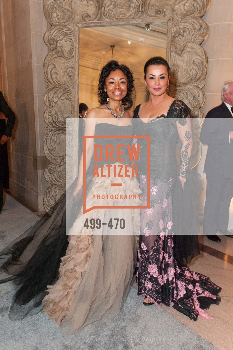 Tanya Powell, Azadeh Riaz, SAN FRANCISCO BALLET Opening Night Gala: PHENOMENAL - Arrivals, US. SF City Hall, January 22nd, 2014,Drew Altizer, Drew Altizer Photography, full-service event agency, private events, San Francisco photographer, photographer California