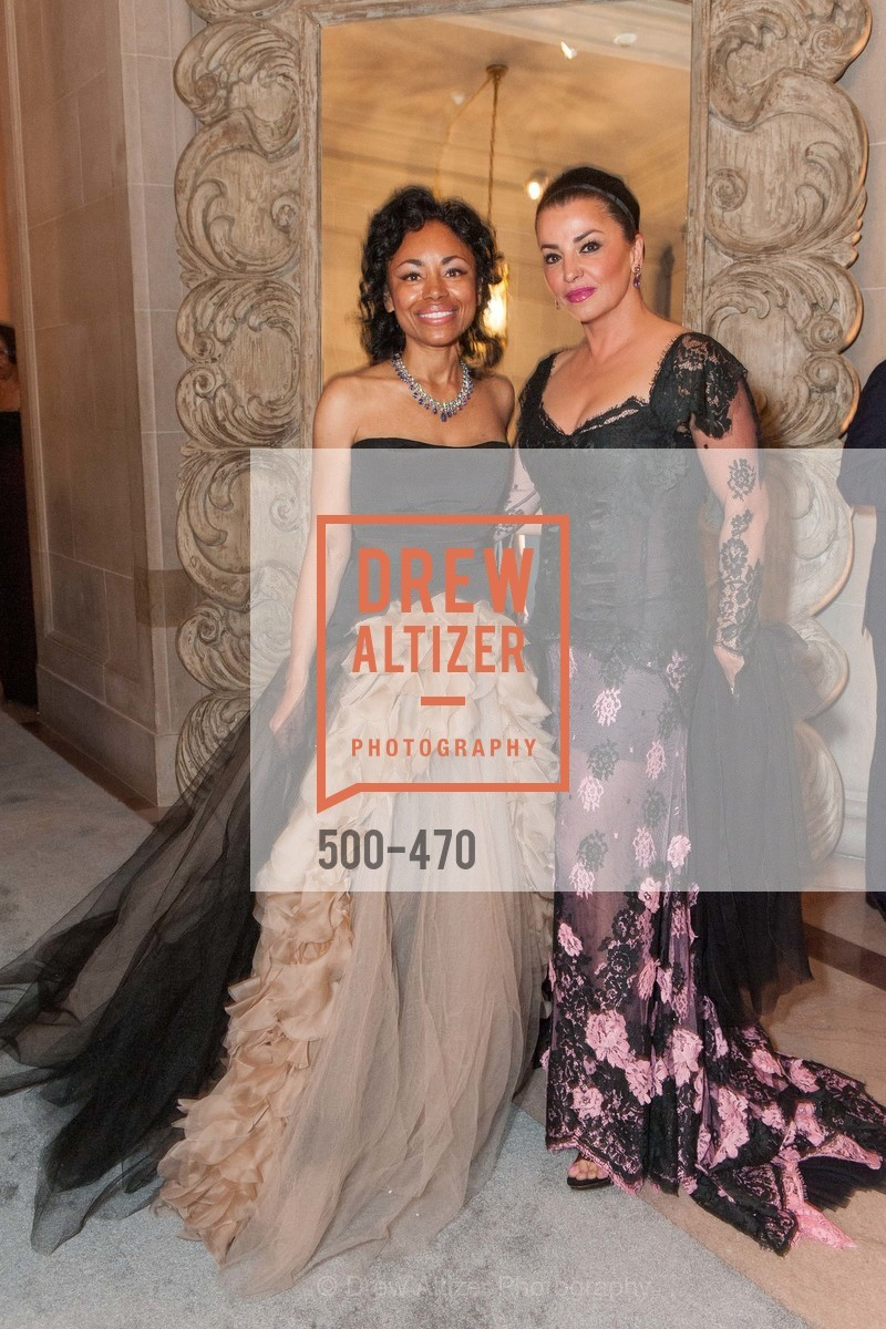 Tanya Powell, Azadeh Riaz, SAN FRANCISCO BALLET Opening Night Gala: PHENOMENAL - Arrivals, US. SF City Hall, January 22nd, 2014,Drew Altizer, Drew Altizer Photography, full-service agency, private events, San Francisco photographer, photographer california