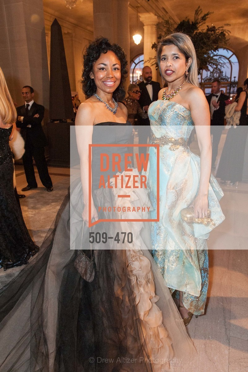 Tanya Powell, Deepa Pakianathan, SAN FRANCISCO BALLET Opening Night Gala: PHENOMENAL - Arrivals, US. SF City Hall, January 22nd, 2014,Drew Altizer, Drew Altizer Photography, full-service agency, private events, San Francisco photographer, photographer california