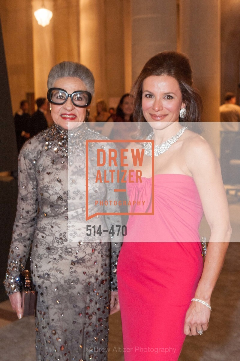 Joy Venturini Bianchi, Claudia Ross, SAN FRANCISCO BALLET Opening Night Gala: PHENOMENAL - Arrivals, US. SF City Hall, January 22nd, 2014,Drew Altizer, Drew Altizer Photography, full-service agency, private events, San Francisco photographer, photographer california