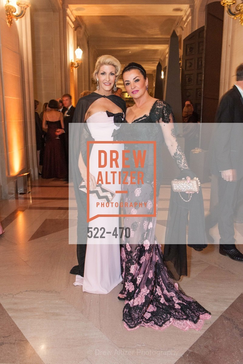 Karen Caldwell, Azadeh Riaz, SAN FRANCISCO BALLET Opening Night Gala: PHENOMENAL - Arrivals, US. SF City Hall, January 22nd, 2014,Drew Altizer, Drew Altizer Photography, full-service agency, private events, San Francisco photographer, photographer california