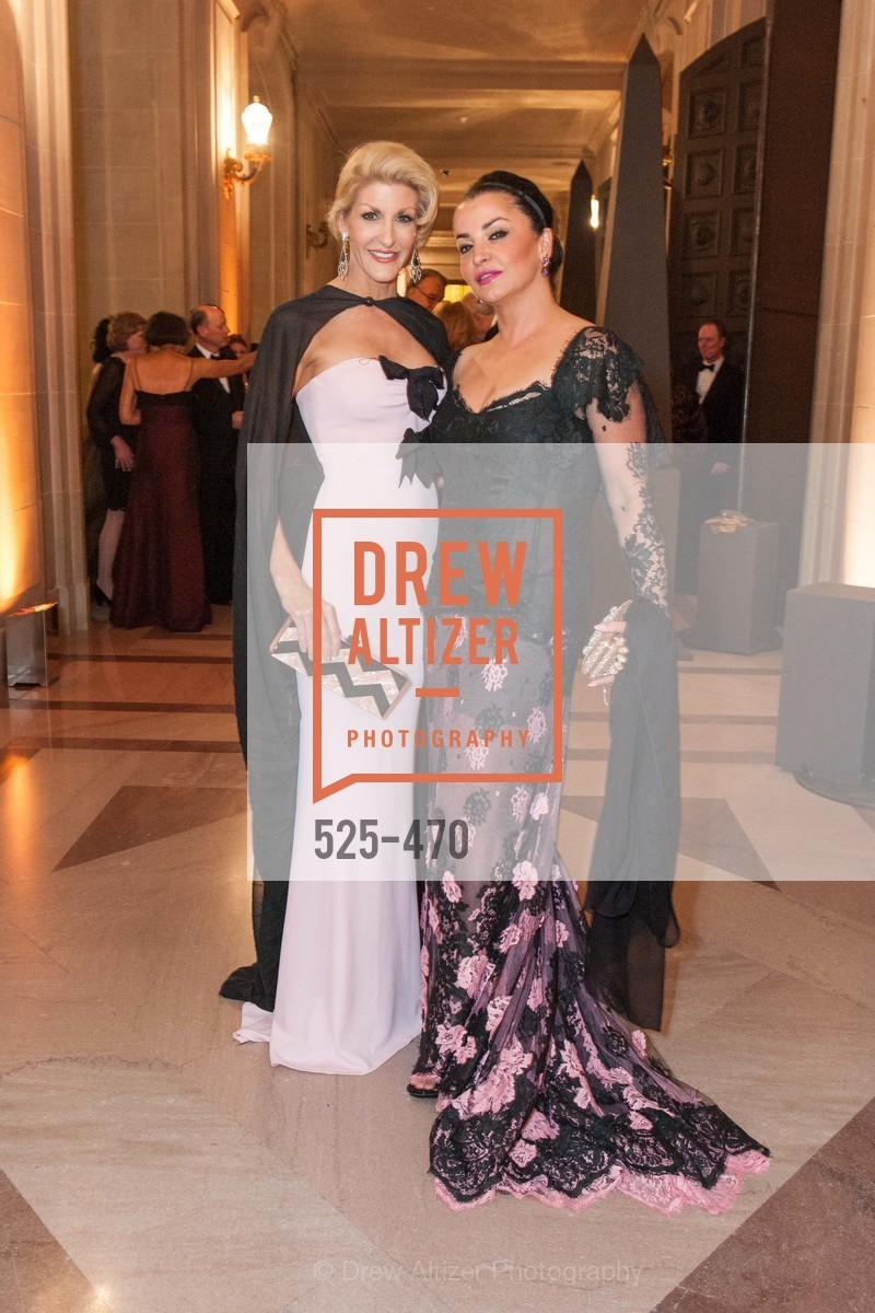 Karen Caldwell, Azadeh Riaz, SAN FRANCISCO BALLET Opening Night Gala: PHENOMENAL - Arrivals, US. SF City Hall, January 22nd, 2014,Drew Altizer, Drew Altizer Photography, full-service event agency, private events, San Francisco photographer, photographer California