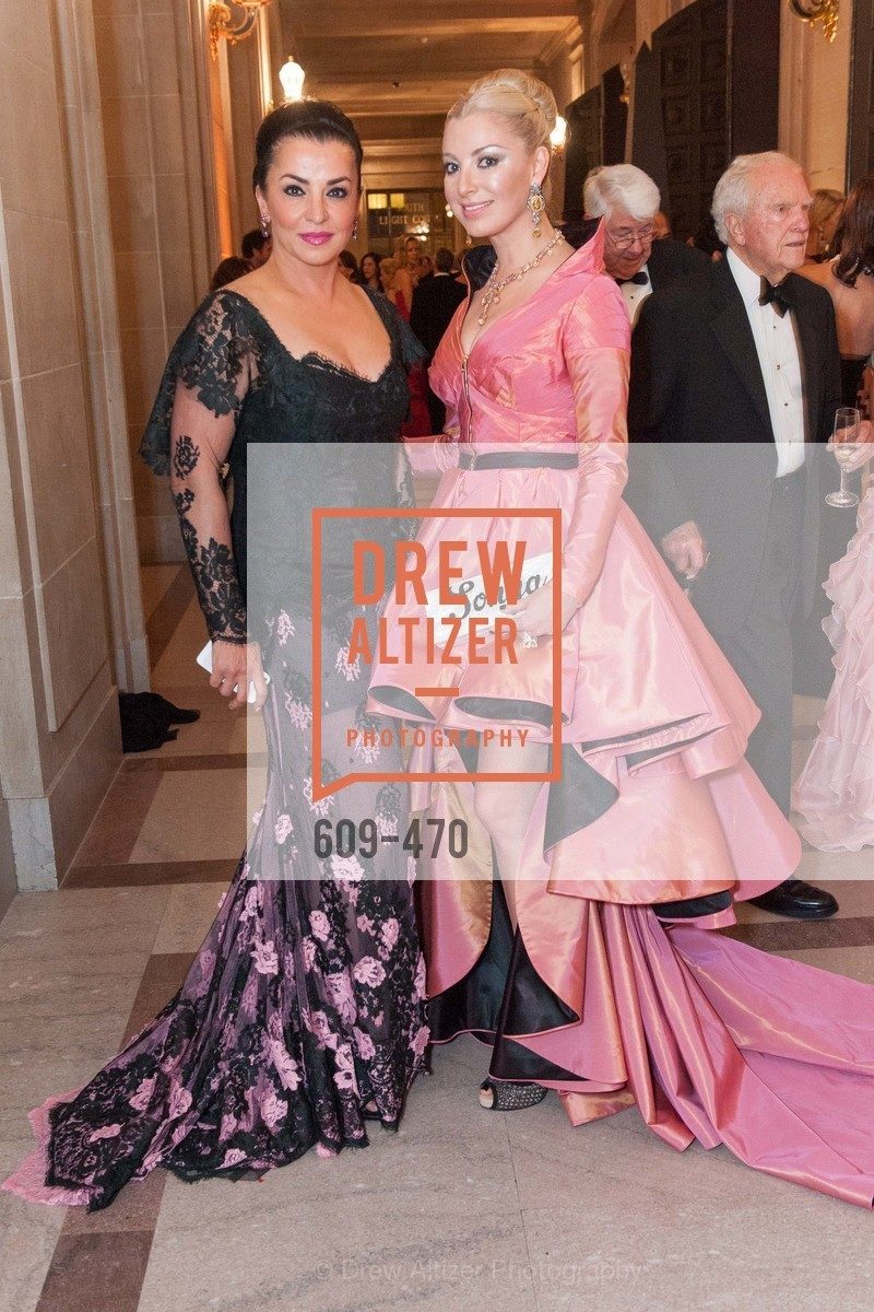 Azadeh Riaz, Sonya Molodetskaya, SAN FRANCISCO BALLET Opening Night Gala: PHENOMENAL - Arrivals, US. SF City Hall, January 22nd, 2014,Drew Altizer, Drew Altizer Photography, full-service agency, private events, San Francisco photographer, photographer california